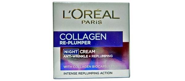 L'Oreal Paris Collagen Re-plumper Night Cream