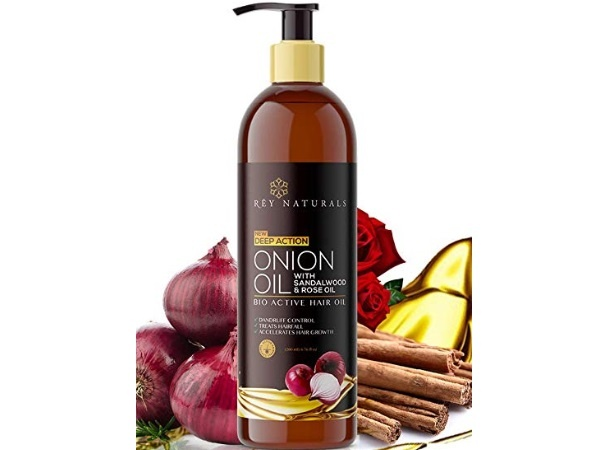 Rey Naturals Nourishing Hair Fall Treatment with Real Onion Extract