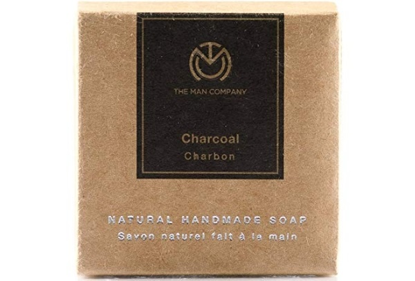 The Man Company Cleansing and Brightening Charcoal Soap
