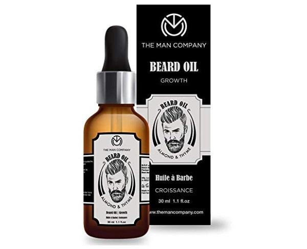 The Man Company Growth Beard Oil