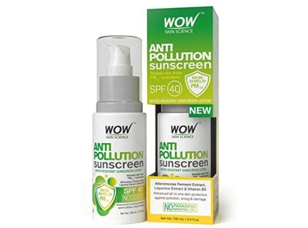 wow anti pollution SPF 40