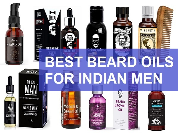 best beard growth oils in India for mens