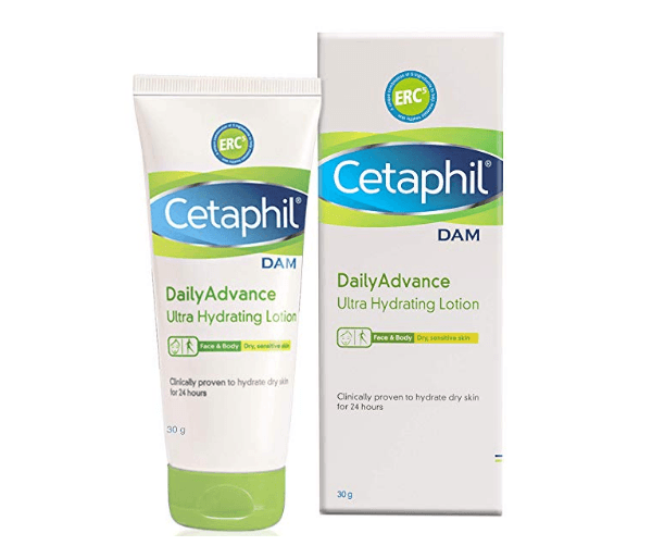 Cetaphil Dam Daily Advance Ultra Hydrating Lotion