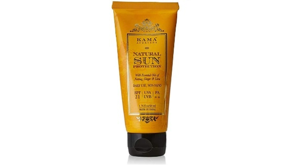 Kama Ayurveda Natural Sun Protection SPF-21