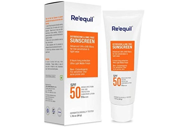 RE' EQUIL Sunscreen SPF 50