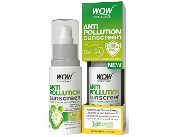 WOW Anti Pollution SPF40 Sunscreen Lotion