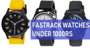 best fastrack watches under 1000 rupees