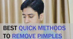 Quick Methods to Remove Pimples on Men's Face