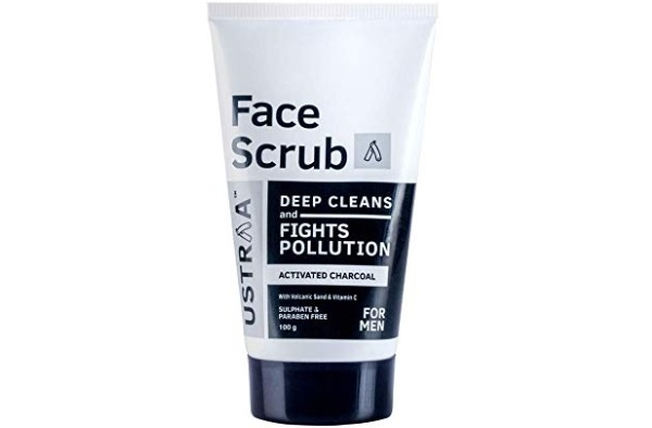 Ustraa Activated Charcoal Face Scrub