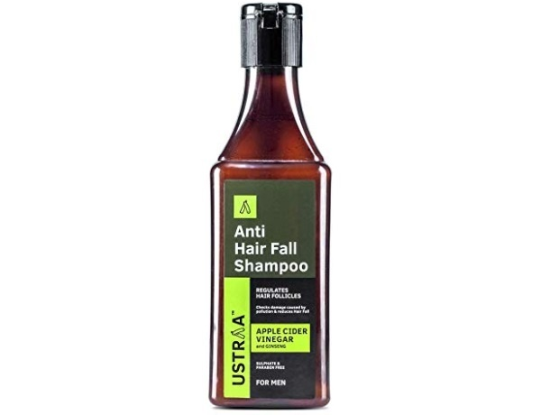 Ustraa Anti Hair Fall with Apple Cider Vinegar No Parabens and Sulphate Shampoo