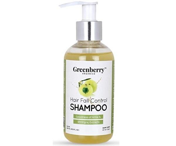 Greenberry Organics Hair Fall Control Shampoo