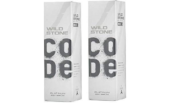 Wild Stone Code Platinum Body Perfume