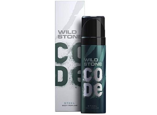 Wild Stone Code Steel Body Perfume For Men