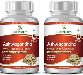 Lean health Ashwagandha Herbs Capsules
