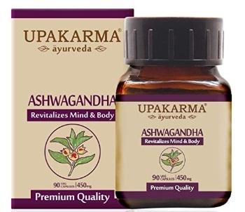 UPAKARMA Ayurveda Ashwagandha Extract Veg Capsules