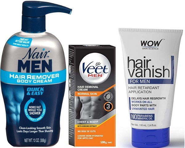 Top 8 Best Hair Removal Creams For Men In India 2019