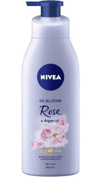 NIVEA Oil in Lotion Rose and Argan Oil Body Lotion
