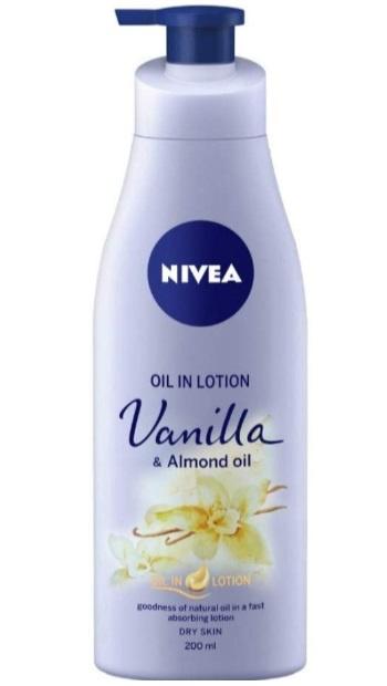 NIVEA Oil in Lotion Vanilla and Almond Oil Body Lotion