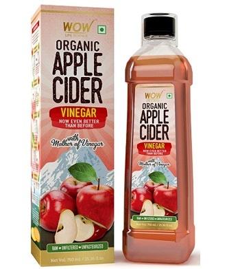 WOW Life Science Organic Apple Cider Vinegar