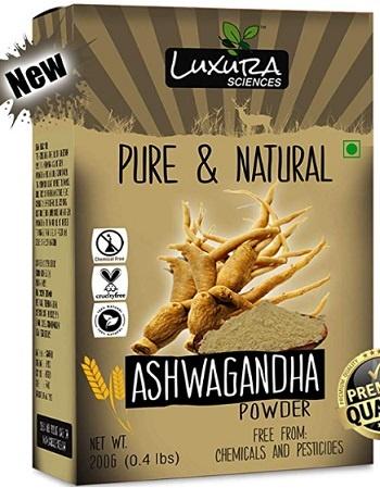 Luxura Sciences Natural Ashwagandha Powder